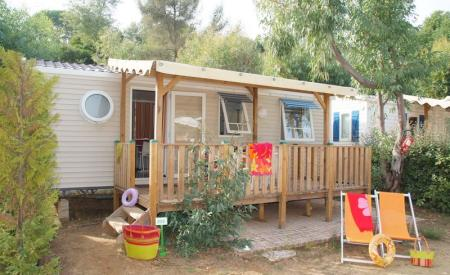 Mobilhome Cap Taillat <br>4/6 personnes